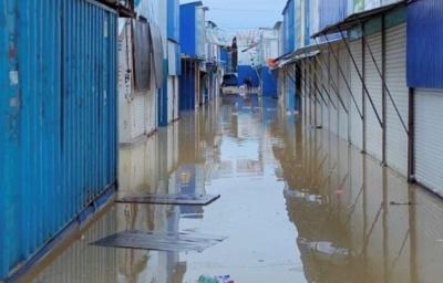 Через повінь збитки Калинівського ринку – понад 5 мільйонів гривень