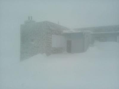 Карпати знову засипало снігом: почалася заметіль