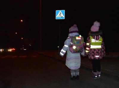 В Україні штрафуватимуть водіїв, пасажирів та велосипедистів без світловідбивачів