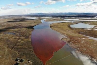 У Норильську в річку вилилося 20 000 т нафтопродуктів