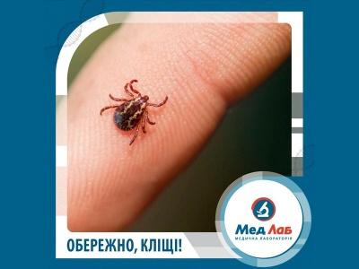 Якщо вкусив кліщ... Лабораторія «МедЛаб» у місті Чернівці зробить аналізи на кліщовий енцефаліт та бореліоз*