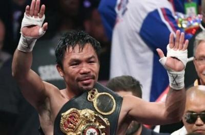 Легендарний боксер Менні Пак'яо зібрався у президенти