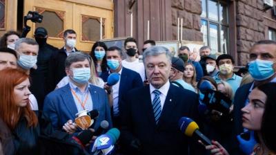 Порошенко заявив, що Генпрокурор не вручила йому підозру