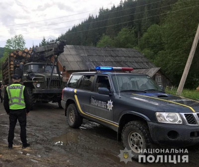 """На Буковині затримали чоловіка, який перевозив деревину з """"липовими"""" документами"""