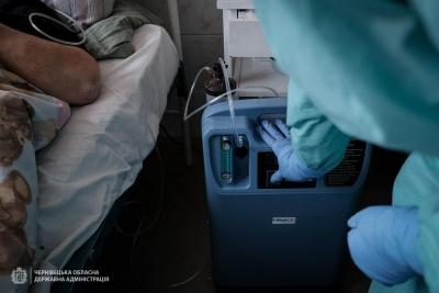 COVID-19 на Буковині: в лікарнях понад пів сотні пацієнтів у важкому стані