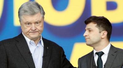 Він робить із себе жертву: Зеленський запевняє, що йому нецікавий Порошенко