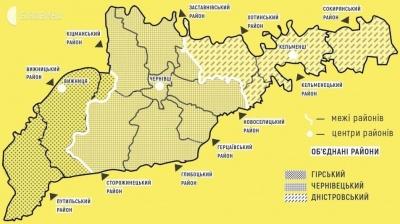 Проблеми нового районного поділу Буковини: точка зору