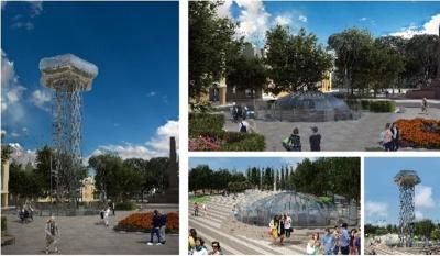 У центрі Чернівців хочуть облаштувати оглядовий майданчик: оголосили бліц-конкурс