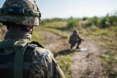 В результаті обстрілів бойовиків поранено п'ятьох українських військових