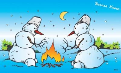 Анекдот дня: про люту зиму і кума