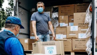 ВООЗ доставить 1,5 тисячі літрів дезінфекційних засобів у 53 лікарні України