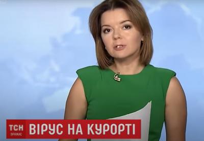 У ведучої новин на 1+1 випав зуб у прямому ефірі – відео