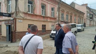 Які вулиці у Чернівцях почнуть ремонтувати наступного тижня