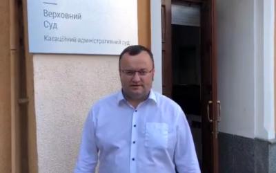 «Справедливість є»: Каспрук з-під суду записав відеозвернення до чернівчан