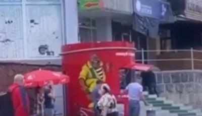 З'явилося відео моменту вбивства у Чернівцях