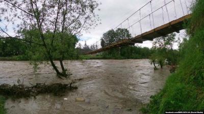 У річках на заході України можливий підйом рівнів води