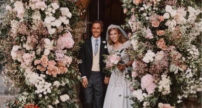 З'явилися фотографії з таємного весілля онуки Єлизавети II