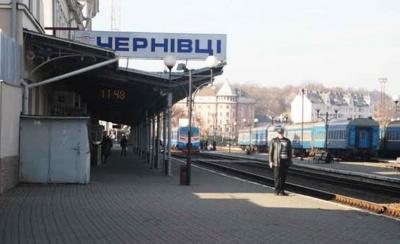 Сьогодні вперше за період карантину з Чернівців відправиться потяг до Одеси
