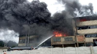 Стала відома причина пожежі на гумовій фабриці в Чернівцях
