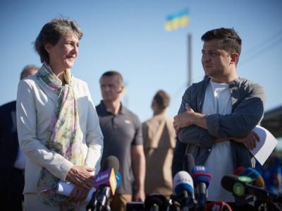 Зеленський підбив підсумки свого візиту на Донбас разом з президентом Швейцарії