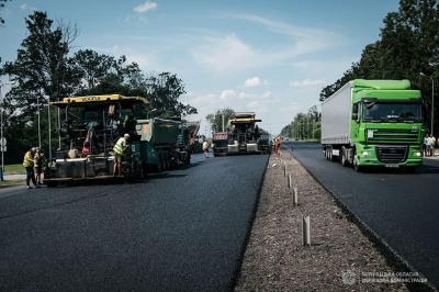 На Буковині завершують капітальний ремонт траси на «Порубне» - фото