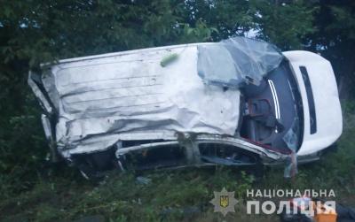 На Буковині перекинувся Peugeot, водій отримав травми – фото