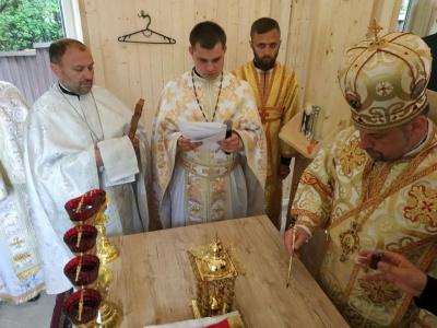 У Чернівцях освятили новозбудовану каплицю УГКЦ – фото