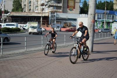 Рекорд на «роверах»: у Чернівцях підрахували велосипедистів