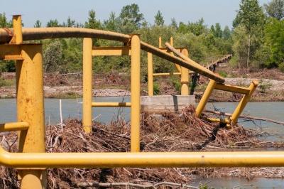 Завтра Кабмін розгляне питання про виділення коштів на ремонт газогону на Буковині, зруйнуваного паводком
