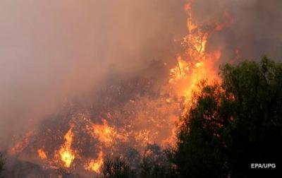 В Америці масштабні лісові пожежі