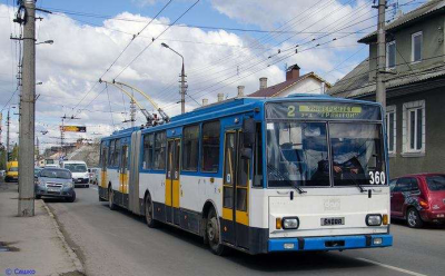 У Чернівцях сьогодні відновили рух тролейбуси №2 та №4