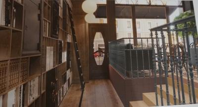 """Кафе и магазин: показали, как будет выглядеть помещение """"Украинского книги"""""""