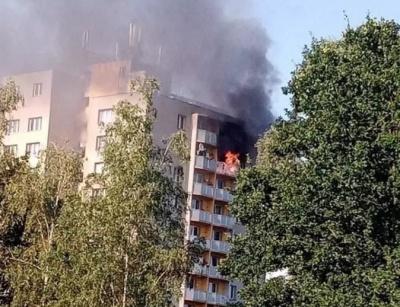 Люди стрибали з балкону 11 поверху. У Чехії внаслідок пожежі у багатоповерхівці загинули 11 осіб