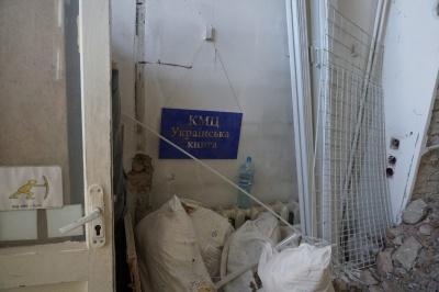"""Розрита підлога та оббиті стіни: як наразі виглядає """"Українська книга"""" - фото"""