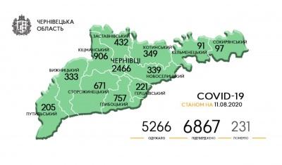 В яких районах Буковини виявили нові випадки COVID-19