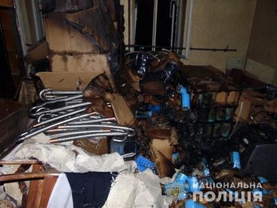 У Чернівцях на пожежі знайшли тіло чоловіка: поліція припускає, що це вбивство