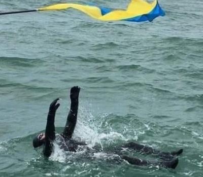 Українець переплив Ла-Манш на спині та встановив світовий рекорд