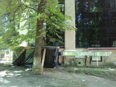 У Чернівцях заборонили будівництво у двох скверах