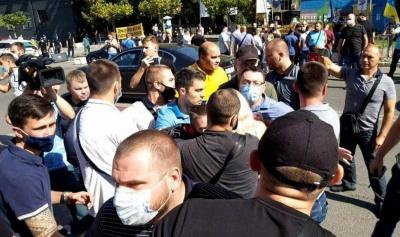 Охорона Зеленського зламала ребро активістці у Дніпрі – відео