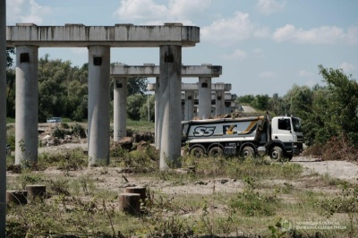 Вартість багатостраждального мосту в Маршинцях зросла ще на 100 мільйонів