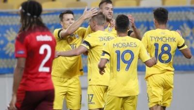 Ліга націй УЄФА. Українська збірна перемогла команду Швейцарії