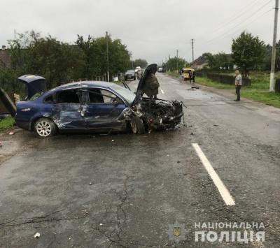 На Буковині під час двох аварій травмувалося 5 осіб