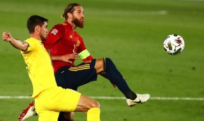 Ліга націй. Іспанці розгромили українську збірну