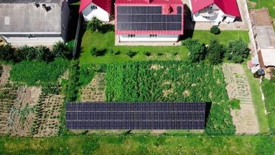 """На Буковині з'явилася нова сонячна електростанція: компанія """"ДімТек"""" змонтувала домашню станцію у Лужанах!*"""