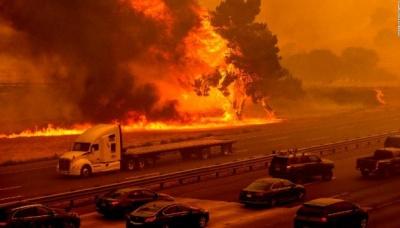 Загинули щонайменше 28 людей. Захід США потерпає від лісових пожеж - відео