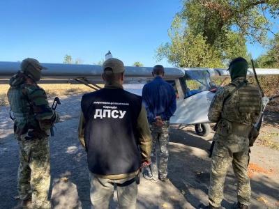 Прикордонники на Черкащині затримали пілота-контрабандиста, який повертався з Буковини