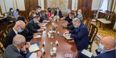 """Про що домовилися """"нормандські радники"""". Єрмак розповів послам G7 про результати переговорів"""