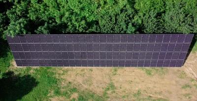 """Ще одна сонячна електростанція, змонтована компанією """"ДімТек"""", з'явилася у  Чернівецькій області!*"""