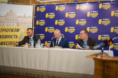 """Партія """"Свобода"""" представила кандидів у депутати до міської ради Чернівців"""