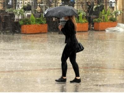 Шквальний вітер та дощі прогнозують в Україні